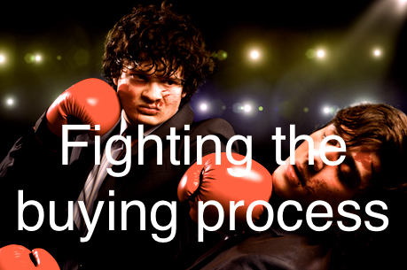 Don't Fight the Customer's Buying Process