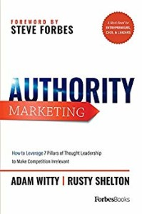 Authority Marketing Book Cover