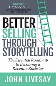 Better Selling through storytelling cover